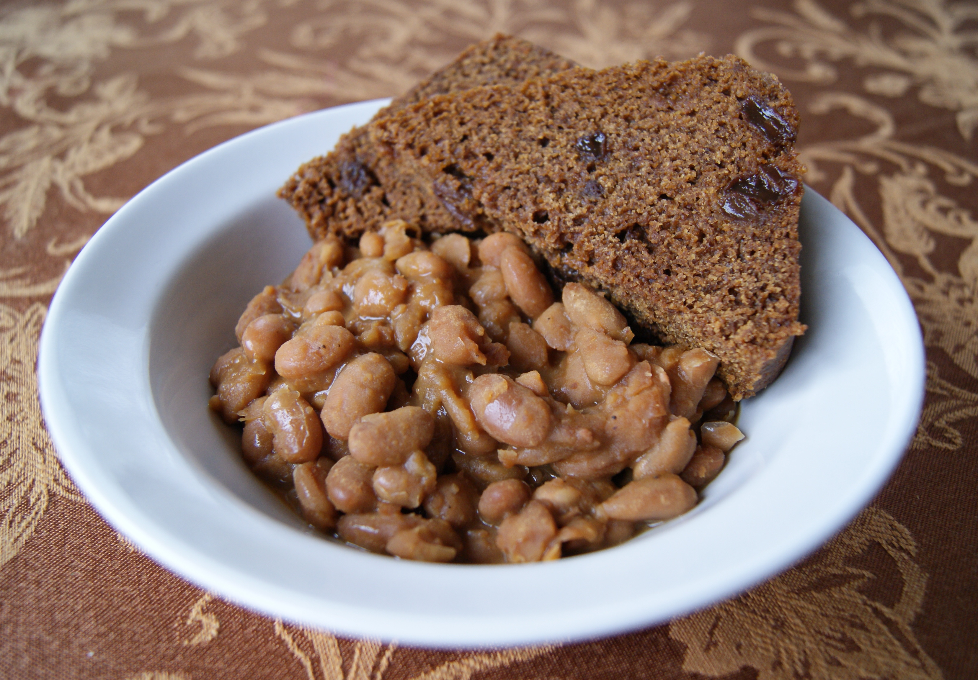 Boston Baked Beans and Brown Bread | A Healthy Abundance
