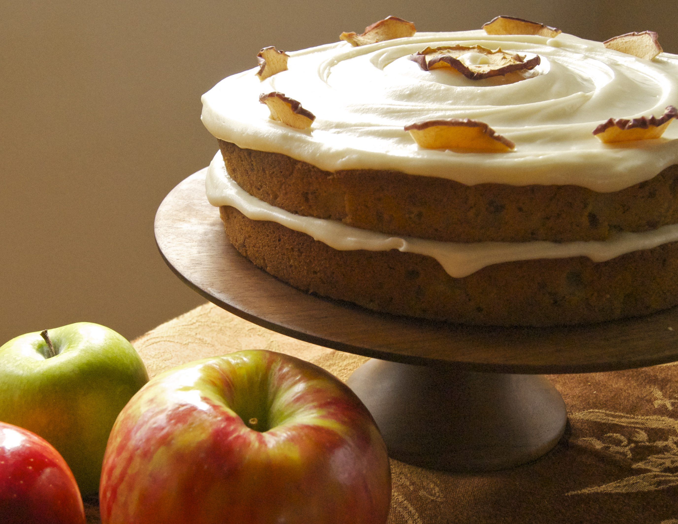 Apple Spice Layer Cake with Cream Cheese Frosting | A Healthy ...